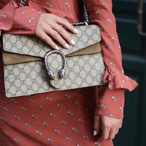 Examples of the luxury industry on Instagram
